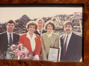 Ward's - Edwina at Wards 1980s