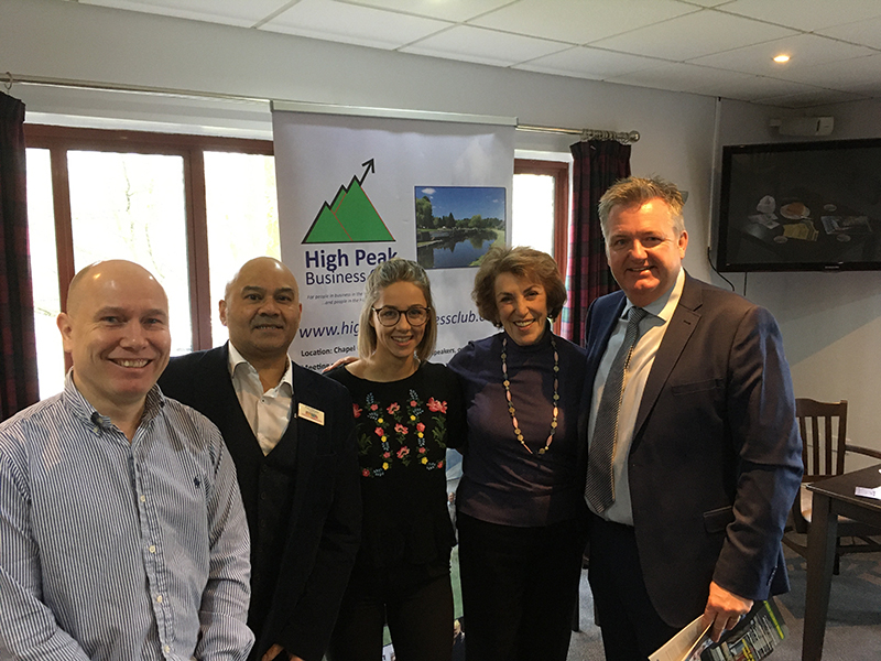 Quilter 28.2.20 Danny Sims (DJS market research), Paul Mirage (GMBusiness), Bethany Travis (Care for Feet), ECJ, Andrew Young (Quilter)